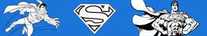 desenhos de Superman para colorir