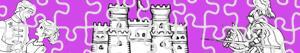 desenhos de Puzzles de Aventuras para colorir