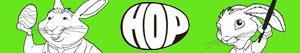 desenhos de HOP - Rebelde Sem Páscoa para colorir