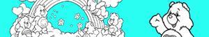 desenhos de Ursinhos Carinhosos para colorir