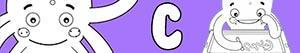 desenhos de Nomes de Menino com C para colorir