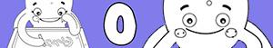 desenhos de Nomes de Menina com O para colorir