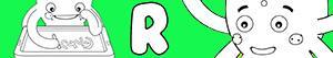 desenhos de Nomes de Menino com R para colorir